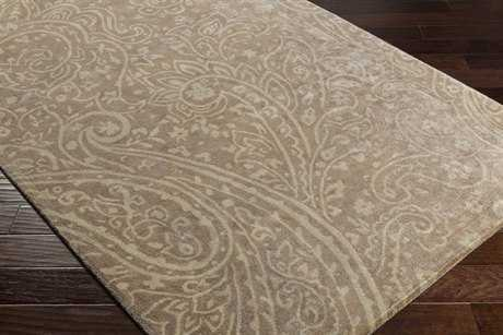Surya Brilliance Rectangular Camel & Cream Area Rug