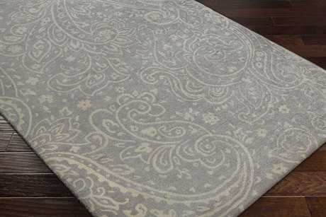 Surya Brilliance Rectangular Medium Gray & Khaki Area Rug