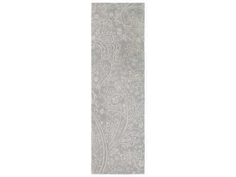 Surya Brilliance 2'6'' x 8' Rectangular Medium Gray & Khaki Runner Rug