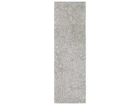 Surya Brilliance 2'6'' x 8' Rectangular Medium Gray & Khaki Runner Rug