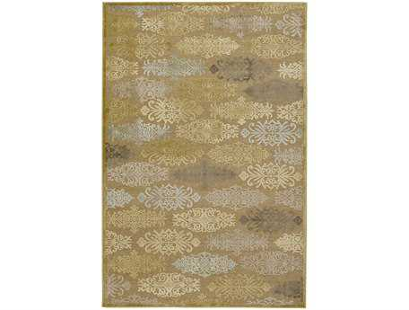 Surya Basilica Rectangular Yellow Area Rug