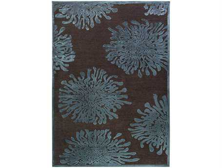Surya Basilica Rectangular Gray Area Rug