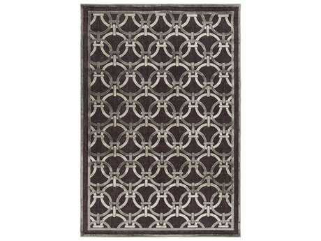 Surya Basilica Rectangular Chocolate Area Rug