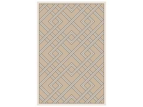Surya Brighton Rectangular Light Gray Area Rug