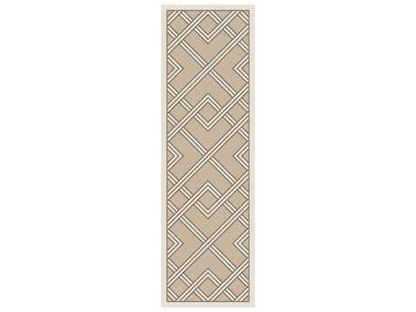 Surya Brighton 2'6'' x 8' Rectangular Light Gray Runner Rug
