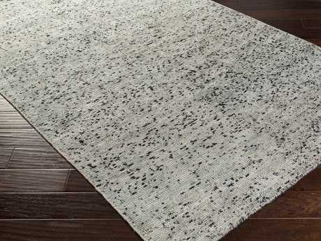 Surya Bazaar Rectangular Light Gray Area Rug