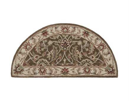 Surya Caesar Brown 2' x 4' Hearth Rug