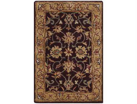 Surya Caesar Rectangular Purple Area Rug