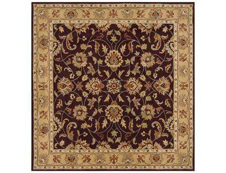 Surya Caesar Square Purple Area Rug