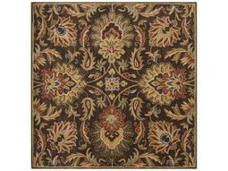 Surya Caesar Square Brown Area Rug