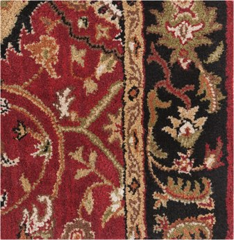 Surya Caesar Red 2' x 4' Hearth Rug