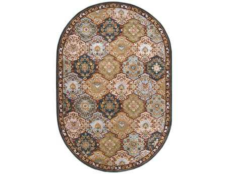 Surya Caesar Oval Green Area Rug