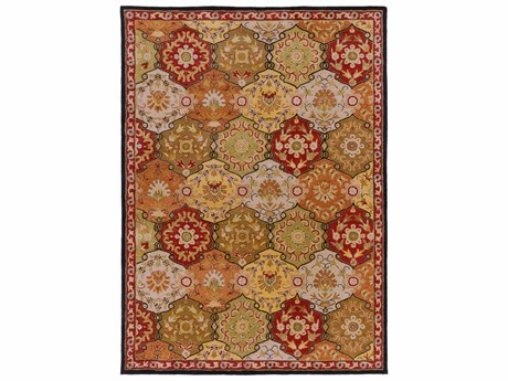 Surya Caesar Rectangular Brown Area Rug