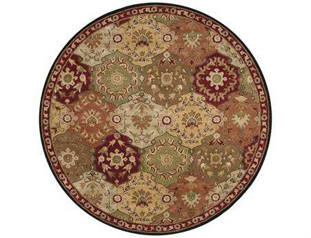 Surya Caesar Round Brown Area Rug