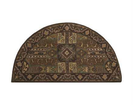 Surya Caesar Green 2' x 4' Hearth Rug