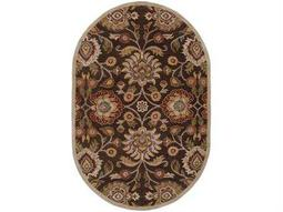 Surya Caesar Oval Brown Area Rug