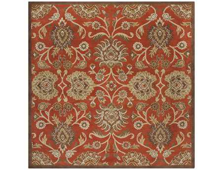 Surya Caesar Square Orange Area Rug