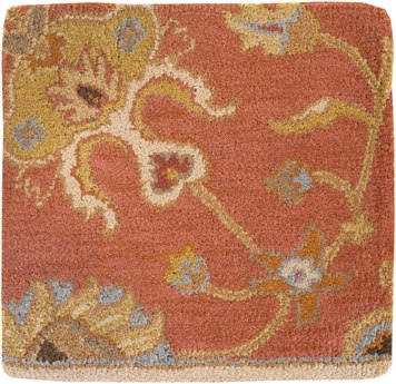 Surya Caesar Rectangular Orange Area Rug