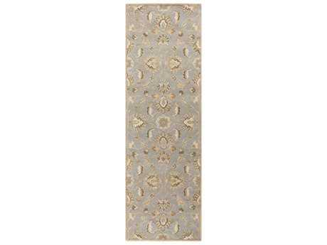 Surya Caesar Rectangular Medium Gray, Ivory & Taupe Runner Rug