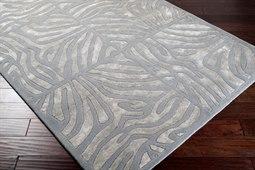 Surya Candice Olson Modern Classics Rectangular Gray Area Rug