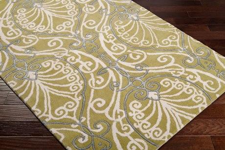 Surya Candice Olson Modern Classics Rectangular Green Area Rug