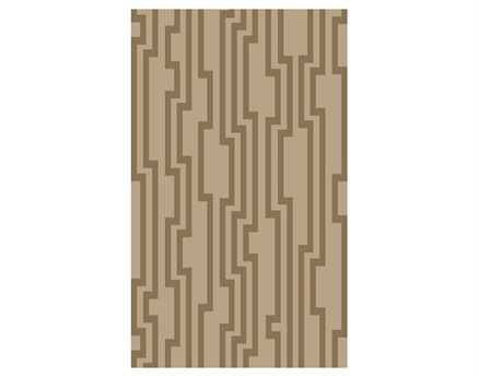 Surya Candice Olson Modern Classics Rectangular Brown Area Rug