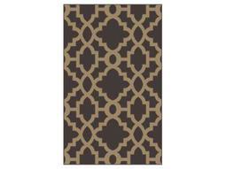 Surya Candice Olson Modern Classics Rectangular Brown Area Rug