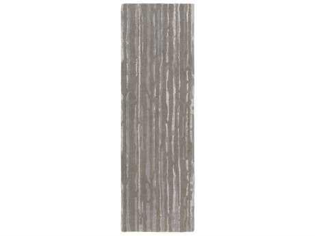 Surya Modern Classics 2'6'' x 8' Rectangular Navy, Medium Gray & Ivory Runner Rug