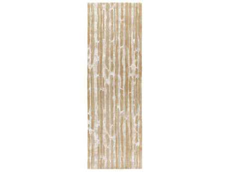 Surya Modern Classics 2'6'' x 8' Rectangular Tan & Beige Runner Rug