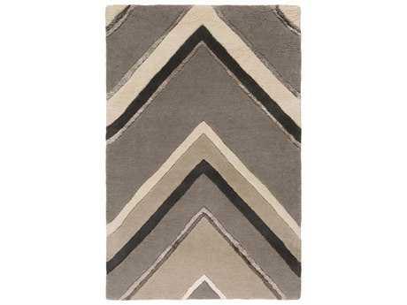 Surya Modern Classics Rectangular Gray Area Rug