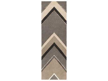 Surya Modern Classics 2'6'' x 8' Rectangular Gray Runner Rug