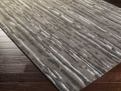 Surya Modern Classics Rectangular Light Gray Area Rug