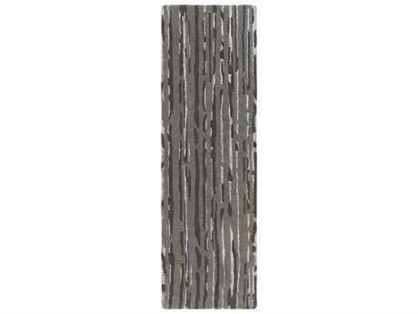 Surya Modern Classics 2'6'' x 8' Rectangular Light Gray Runner Rug