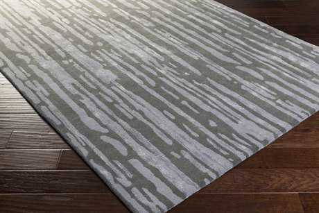 Surya Modern Classics Rectangular Medium Gray, Charcoal & Beige Area Rug