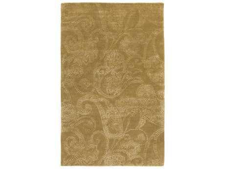 Surya Modern Classics Rectangular Tan & White Area Rug