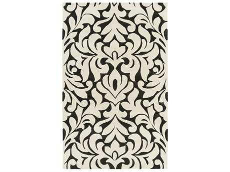 Surya Modern Classics Rectangular Cream & Black Area Rug
