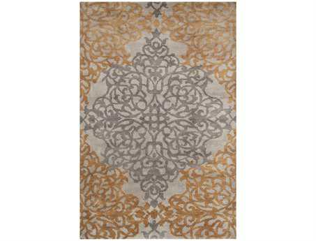 Surya Caspian Rectangular Gray Area Rug