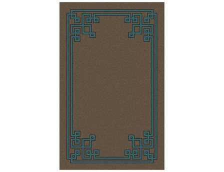 Surya Calaveras Rectangular Brown Area Rug