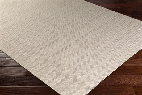 Surya Charette Rectangular Tan & Cream Area Rug