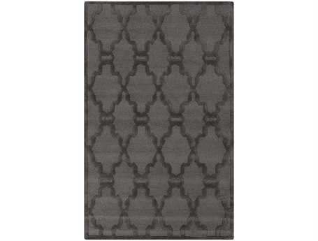 Surya Chandler Rectangular Gray Area Rug