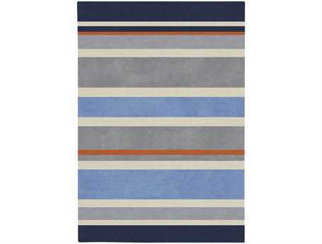 Surya Chic Rectangular Gray Area Rug