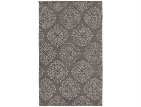 Surya Chapman Lane Rectangular Gray Area Rug