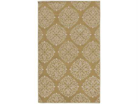Surya Chapman Lane Rectangular Yellow Area Rug
