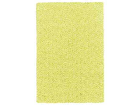 Surya Charlie Rectangular Bright Yellow & Lime Area Rug