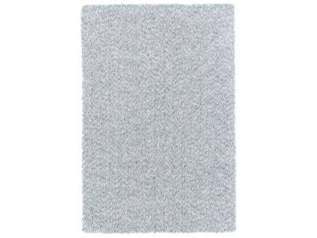 Surya Charlie Rectangular Pale Blue & Light Gray Area Rug