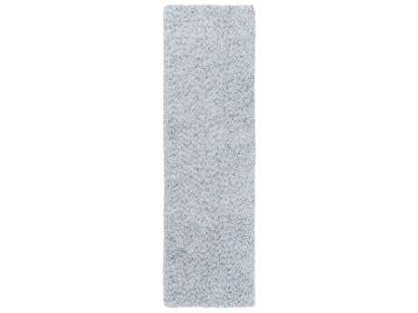 Surya Charlie 2'6'' x 8' Rectangular Pale Blue & Light Gray Runner Rug