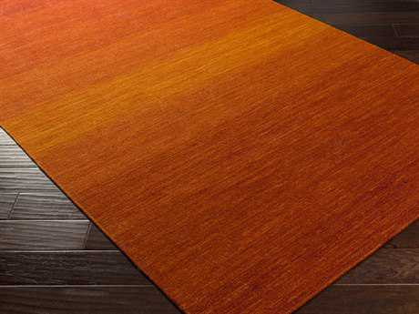 Surya Chaz Rectangular Burnt Orange Area Rug
