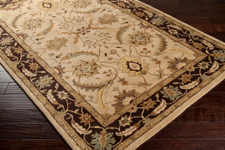 Surya Clifton Rectangular Beige Area Rug