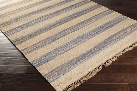 Surya Claire Rectangular Denim & Wheat Area Rug