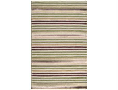 Surya Calvin Rectangular Green Area Rug